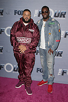 WEST HOLLYWOOD, CA - FEBRUARY 8: DJ Khaled and Sean Combs at the season finale viewing party for The Four: Battle For Stardom at Delilah in West Hollywood, California on February 8, 2018. <br /> CAP/MPI/FS<br /> &copy;FS/MPI/Capital Pictures