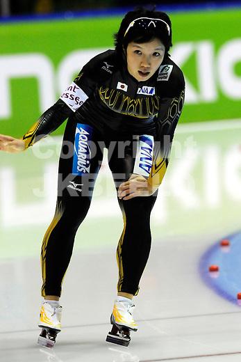 HEERENVEEN - Schaatsen, IJsstadion Tialf, World Cup, 2011-2012, 04-12-2011,