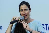 SAO PAULO, SP, 21 DE FEVEREIRO 2013 - YOANI SANCHEZ - SAO PAULO - A jornalista e blogueira cubana Yoani Sánchez durante sabatina realizada pelo Jornal Estado de Sao Paulo e Radio Estadão na manha desta quinta-feira na sede do Grupo Estado na regiao norte da cidade de Sao Paulo. FOTO: VANESSA CARVALHO - BRAZIL PHOTO PRESS.
