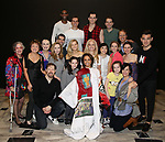 Shina Ann Morris with the cast  attends Actors' Equity Broadway Opening Night Gypsy Robe Ceremony honoring Shina Ann Morris for  'Anastasia' at the Broadhurst Theatre on April 24, 2017 in New York City.