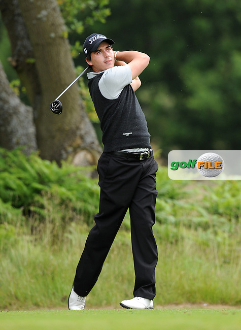 Hendrikus Stoop of South Africa during the Second Round of The Brabazon Trophy 2015 at Notts Golf Club, Nottingham, England. Picture: Golffile | Richard Martin-Roberts<br /> All photo usage must carry mandatory copyright credit (&copy; Golffile | Richard Martin- Roberts)