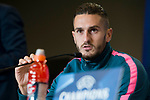 Atletico de Madrid Koke Resurrección during press conference the day before champions league match between Atletico de Madrid and Roma at Wanda Metropolitano in Madrid, Spain. November 21, 2017. (ALTERPHOTOS/Borja B.Hojas)