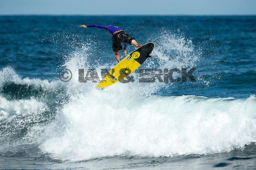 Luke Stedman at Gallows near Gracetown in Western Australia.