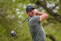 Brooks Koepka (USA) watches his tee shot on 12 during day 2 of the WGC Dell Match Play, at the Austin Country Club, Austin, Texas, USA. 3/28/2019.<br /> Picture: Golffile | Ken Murray<br /> <br /> <br /> All photo usage must carry mandatory copyright credit (© Golffile | Ken Murray)