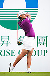 TAOYUAN, TAIWAN - OCTOBER 21: Yani Tseng of Taiwan tees off on the 1st hole during day two of the LPGA Imperial Springs Taiwan Championship at Sunrise Golf Course on October 21, 2011 in Taoyuan, Taiwan. (Photo by Victor Fraile/Getty Images)