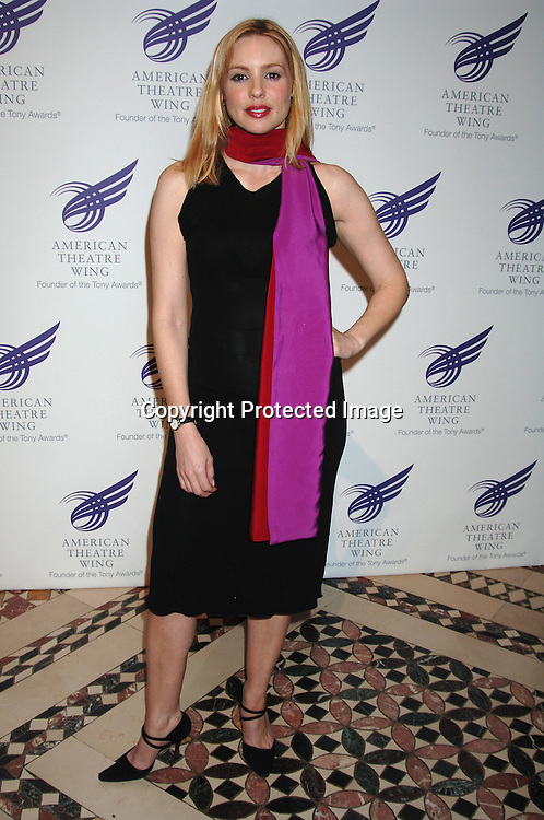 Olivia D'Abo..at The American Theatre Wing's Annual Spring Gala honoring Matthew Broderick and Nathan Lane on ..April 10, 2006 at Cipriani 42nd Street. ..Robin Platzer, Twin Images