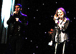 One Life To Live Kerry Butler sings with Stark Sands (Kinky Boots) as they are  attending the first ever 3-day Broadway Con on January 22 - 24, 2016 at the Hilton Hotel, New York City, New York. (Photo by Sue Coflin/Max Photos)