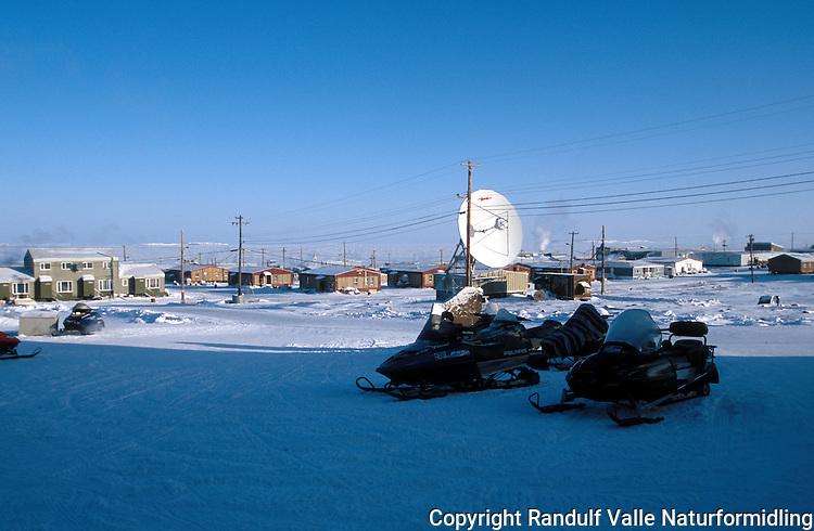 Kugluktuk, Nunavut, Canada.