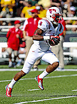 Southern Methodist Mustangs wide receiver Darius Johnson (3) in action during the game between the Southern Methodist Mustangs and the Baylor Bears at the Floyd Casey Stadium in Waco, Texas. Baylor defeats SMU 59 to 24.