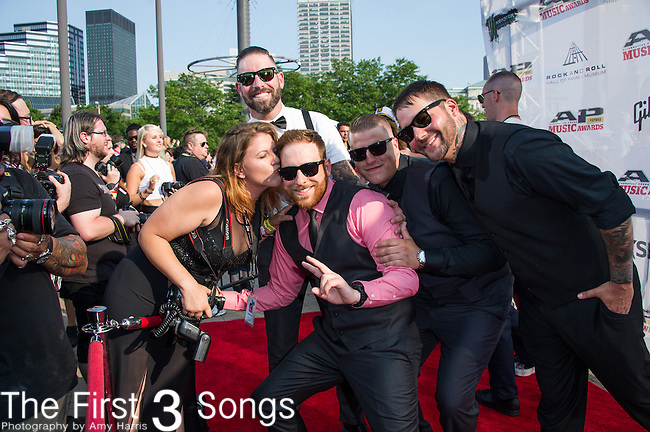 X attends the 2014 AP Music Awards at the Rock And Roll Hall Of Fame and Museum at North Coast Harbor in Cleveland, Ohio.