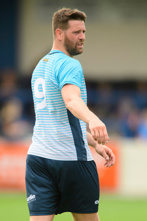 Gainsborough Trinity's Gavin Allot<br /> <br /> Photographer Chris Vaughan/CameraSport<br /> <br /> Football Pre-Season Friendly (Community Festival of Lincolnshire) - Gainsborough Trinity v Lincoln City - Saturday 6th July 2019 - The Martin & Co Arena - Gainsborough<br /> <br /> World Copyright © 2018 CameraSport. All rights reserved. 43 Linden Ave. Countesthorpe. Leicester. England. LE8 5PG - Tel: +44 (0) 116 277 4147 - admin@camerasport.com - www.camerasport.com
