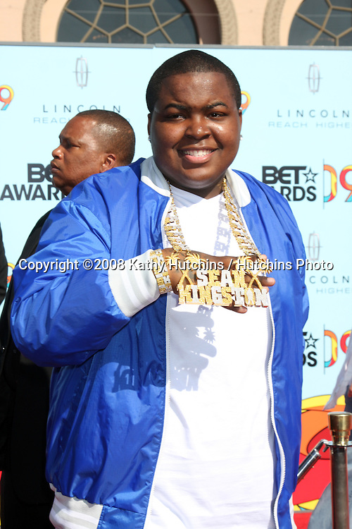 Sean Kingston  arriving at  the BET Awards 2009 at the Shrine Auditorium in Los Angeles, CA on June 28, 2009.©2008 Kathy Hutchins / Hutchins Photo..