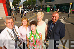 Pictured from left: Pat Hussey (Mayor of Tralee), Cllr. Gillian Wharton Slattery, Joan O'Regan (Tralee Chamber Alliance), Cllr. Mairead Fernane and Kieran Ruttledge (Tralee Chamber Alliance).