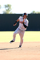Ehire Adrianza - San Francisco Giants - 2010 Instructional League.Photo by:  Bill Mitchell/Four Seam Images..