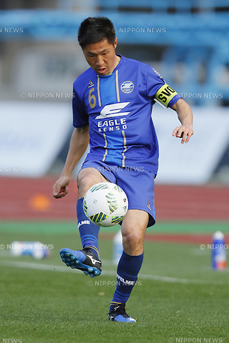 Ri Han Jae (Zelvia), MARCH 20, 2016 - Football /Soccer : 2016 J2 League match between FC Machida Zelvia 2-1 Zweigen Kanazawa at Machida Stadium in Tokyo, Japan. (Photo by Yusuke Nakanishi/AFLO SPORT)