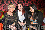 Audrey Moran, Alice Darlini and Sonja Guerra attending the 'Bands For Bubbles' in aid ofSiobhain Maher Sequeval in Benners Hotel on Friday.