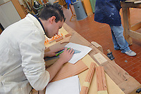 - I.P.S.I.A. (Professional Institute for Industry and Handicrafts) G. Meroni, vocational school for the wood industry, furniture and furnishings; carpentry workshop....- I.P.S.I.A. (Istituto Professionale per l'Industria e l'Artigianato) G. Meroni, scuola di avviamento professionale per l'industria del legno, del mobile e dell'arredamento; laboratorio di falegnameria
