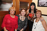 May Burke, Jackie Leddy, Myra McCormick and Caroline Murray in the Thatch...(Photo credit should read Jenny Matthews www.newsfile.ie)....This Picture has been sent you under the conditions enclosed by:.Newsfile Ltd..The Studio,.Millmount Abbey,.Drogheda,.Co Meath..Ireland..Tel: +353(0)41-9871240.Fax: +353(0)41-9871260.GSM: +353(0)86-2500958.email: pictures@newsfile.ie.www.newsfile.ie.