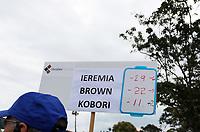 Denzel Ieremia final score. Charles Tour, Christies Mt Maunganui Open, Mt Maunganui Golf Club, Tauranga, New Zealand. Sunday 15 December 2019. Photo: Simon Watts/www.bwmedia.co.nz/NZGolf