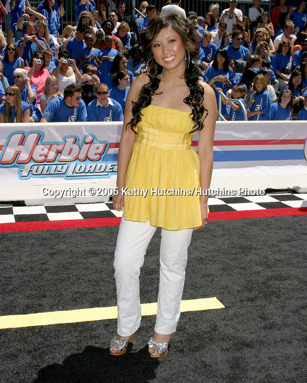 Brenda Song.Herbie Fully Loaded Premiere.El Capitan Theater.Los Angeles, CA.June 19, 2005.©2005 Kathy Hutchins / Hutchins Photo