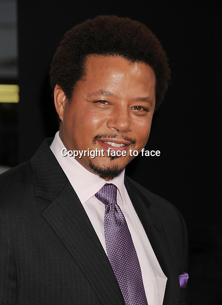 BEVERLY HILLS, CA- SEPTEMBER 12: Actor Terrence Howard arrives at the 'Prisoners' - Los Angeles Premiere at the Academy of Motion Picture Arts and Sciences on September 12, 2013 in Beverly Hills, California.<br />