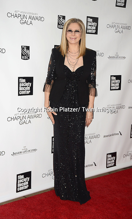 Barbra Streisand attends the  Film Society of Lincoln Center's Gala 40th Annual Charlie Chaplin Award honoring Barbra Streisand on April 22, 2013 in New York City.