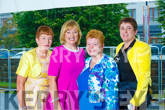 Mary Feeley(Abbeydorney), Bridget O'Connor(Ballymac), Sheila Cooper(Ballymac) and Eileen O'Connor(Abbeydorney).