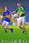 Gary O'Leary of Kerry in action against Tipperary's Niall O'Sullivan in Thurles for the Munster Semi Final.