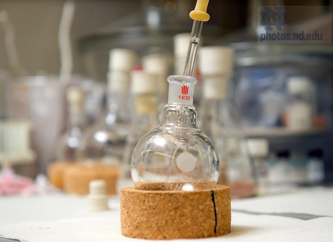 Oct. 3, 2012; Shahriar Mobashery lab..Photo by Matt Cashore/University of Notre Dame