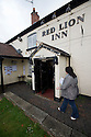 07/05/15<br /> <br /> A voter arrives to cast her vote at the Red Lion Inn in Hollington, Derbyshire.<br /> <br /> All Rights Reserved - F Stop Press.  www.fstoppress.com. Tel: +44 (0)1335 418629 +44(0)7765 242650