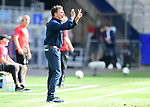 Trainer Dieter Hecking (HSV)<br />Hamburg, 28.06.2020, Fussball 2. Bundesliga, Hamburger SV - SV Sandhausen<br />Foto: Tim Groothuis/Witters/Pool//via nordphoto<br /> DFL REGULATIONS PROHIBIT ANY USE OF PHOTOGRAPHS AS IMAGE SEQUENCES AND OR QUASI VIDEO<br />EDITORIAL USE ONLY<br />NATIONAL AND INTERNATIONAL NEWS AGENCIES OUT