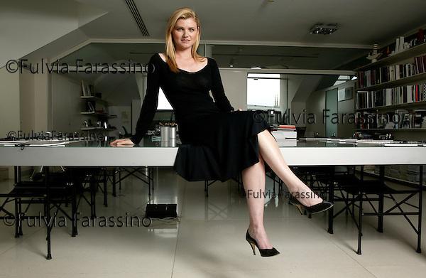 Beatrice Trussardi.Milano, 17 maggio 2005