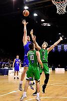 Saints' Anzac Rissetto in action during the NBL - Cigna Saints v Manawatu Jets at TSB Bank Arena, Wellington, New Zealand on Sunday 30 June 2019. <br /> Photo by Masanori Udagawa. <br /> www.photowellington.photoshelter.com