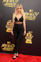 Anastasia Karanikolaou at the 2017 MTV Movie &amp; TV Awards at the Shrine Auditorium, Los Angeles, USA 07 May  2017<br /> Picture: Paul Smith/Featureflash/SilverHub 0208 004 5359 sales@silverhubmedia.com