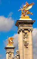 Paris - France - Pont Alexadre 111 - Column