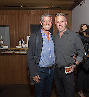 Chris Bonbright and Ryan Farber attend the West Hollywood Design District A Street Af(fair) Opening Party at Jenni Kayne on April 29, 2016 (Photo by Inae Bloom/Guest of a Guest)
