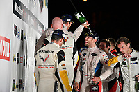 IMSA WeatherTech SportsCar Championship<br /> Motul Petit Le Mans<br /> Road Atlanta, Braselton GA<br /> Saturday 7 October 2017<br /> 25, BMW, BMW M6, GTLM, Bill Auberlen, Kuno Wittmer<br /> World Copyright: Richard Dole<br /> LAT Images<br /> ref: Digital Image RDPLM460