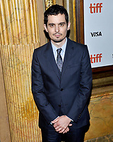 10 September  2018 - Toronto, Ontario, Canada. Damien Chazelle. &quot;First Man&quot; Premiere - 2018 Toronto International Film Festival at the Elgin Theatre. <br /> CAP/ADM/BPC<br /> &copy;BPC/ADM/Capital Pictures