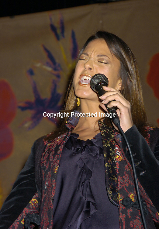 """Eva La Rue ..at The 60th  Boys' Towns of Italy  """"Ball of the Year""""  on..April 8, 2005 at The Waldorf Astoria Hotel. ..Photo by Robin Platzer, Twin Images"""