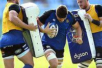 Charlie Ewels of Bath Rugby in action during the pre-match warm-up. Heineken Champions Cup match, between Wasps and Bath Rugby on October 20, 2018 at the Ricoh Arena in Coventry, England. Photo by: Patrick Khachfe / Onside Images
