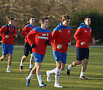 130112 Rangers training