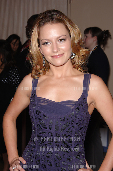 BECKI NEWTON at the 2006 Family TV Awards at the Beverly Hilton Hotel..November 29, 2006  Los Angeles, CA.Picture: Paul Smith / Featureflash