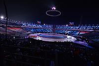OLYMPIC GAMES: PYEONGCHANG: 09-02-2018, PyeongChang Olympic Stadium, Olympic Games, Opening Ceremony, Entrance the Netherlands, ©photo Martin de Jong