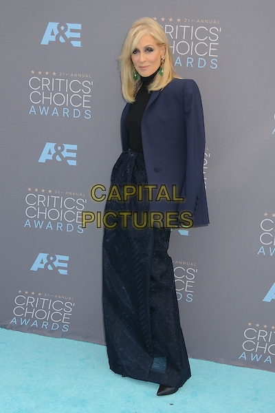 17 January 2016 - Santa Monica, California - Judith Light. 21st Annual Critics' Choice Awards - Arrivals held at Barker Hangar. <br /> CAP/ADM/BP<br /> &copy;BP/ADM/Capital Pictures