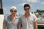 Van Hansis & Jake Silbermann - 11th Annual SoapFest - Actors take a break on the Ramblin' Rose with Ken as the captain on May 2, 2009 on Marco Island, FLA. (Photo by Sue Coflin/Max Photos)