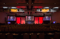 Los Angeles, CA - January 12, 2017: The 2017 NWSL College Draft was held at the JW Marriott Hotel.Los Angeles, CA - January 12, 2017: The 2017 NWSL College Draft was held at the JW Marriott Hotel.
