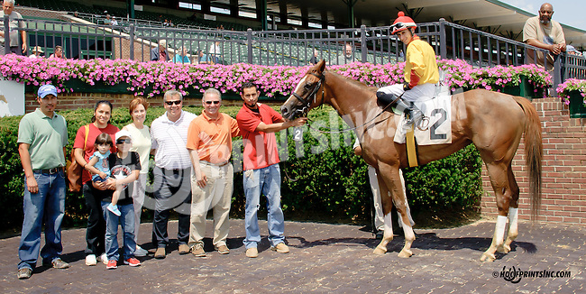 Lady Mary winning at Delaware Park on 7/30/14