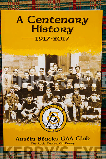 Close up of Austin Stacks GAA book requested by Jim O'Gorman.