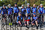 At the Rembering Zoe Cycle Challenge on Sunday morning were Members of Sliabhluchra C.C. Rathmore.<br /> Back L-R Patrick McAuliffe, Aiden O' Connell, John O' Sullivan, Hannah O' Connor, Donal Kelliher, Anthony Tancred, Con Murphy.<br /> Front: Michelle o' Keeffe, Rosie Rea, Fred McGillicuddy