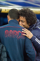 Marcelo share secrets with Barcelona partner